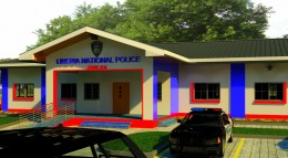 Front View - Zone-8 Police Station (ELWA Road)