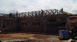 Construction Works - Zone-8 Police Station (ELWA Road)